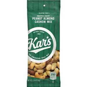 kars peanut almond cashew